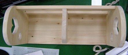 편백나무 책꽂이(하트) : 가로x세로x높이x두께 = 60x40x30x2 cm