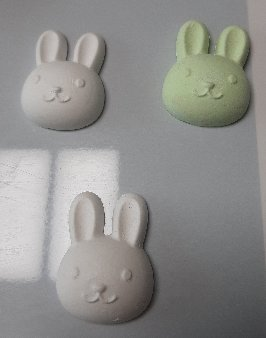 3fish 석고 방향제/6) 토끼